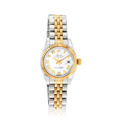 Pre-Owned Rolex Datejust Women's 26mm Automatic Watch in Stainless Steel and 18kt Yellow Gold