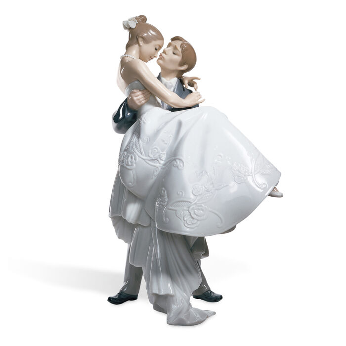 "Lladro ""The Happiest Day"" Porcelain Figurine , , default"