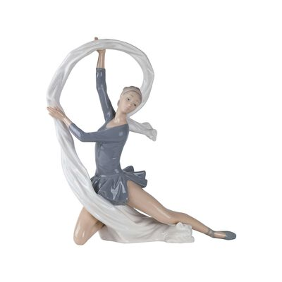 "Nao ""Dancer with Veil"" Porcelain Figurine, , default"