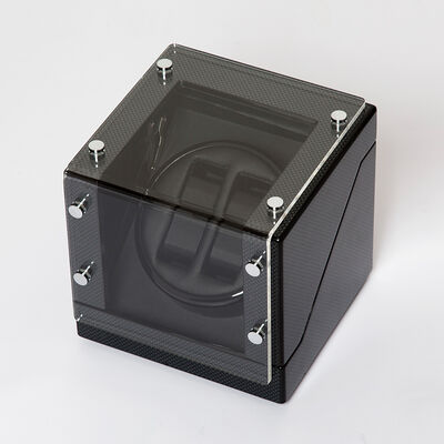 Brouk & Co. Black Carbon Fiber Watch Winder, , default