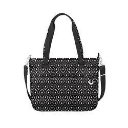 "Travelon ""Anti-Theft Boho"" Geometric Shell Tote Bag , , default"
