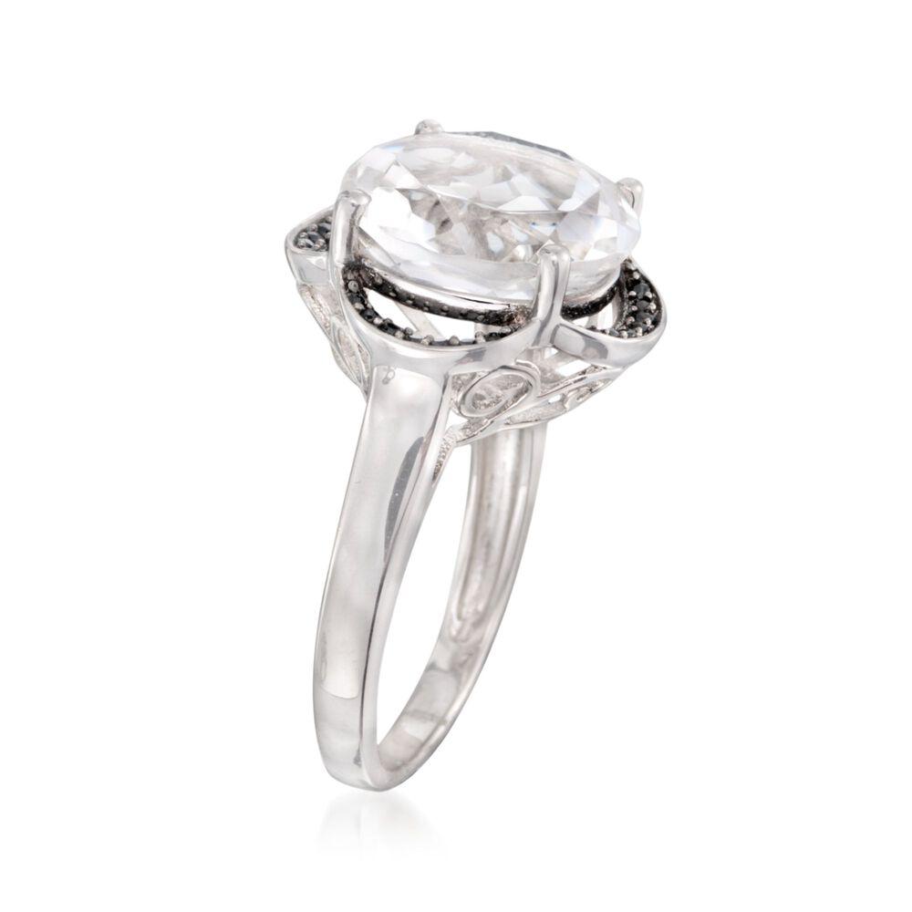 Ross Simons Black Spinel Ring