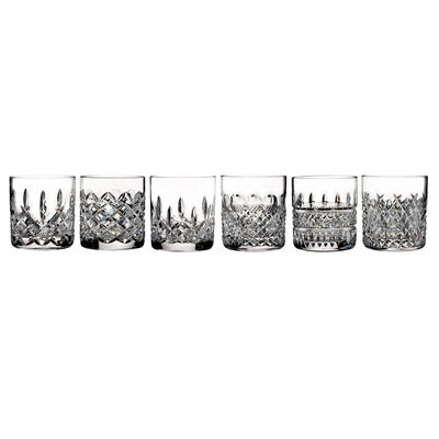 "Waterford Crystal ""Connoisseur"" Set of 6 Heritage Straight-Sided Tumbler Glasses, , default"