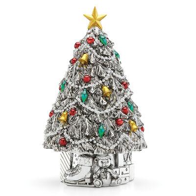 """Reed & Barton """"Vintage Christmas"""" Musical Box"""