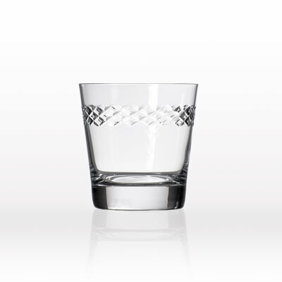 """Rolf Glass """"Diamond"""" Set of 4 Double Old-Fashioned Glasses, , default"""
