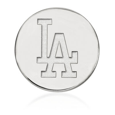 Sterling Silver MLB Los Angeles Dodgers Lapel Pin, , default