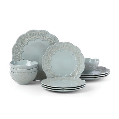 "Lenox ""Chelse Muse Blue"" 12-pc.Dinnerware Set, , default"