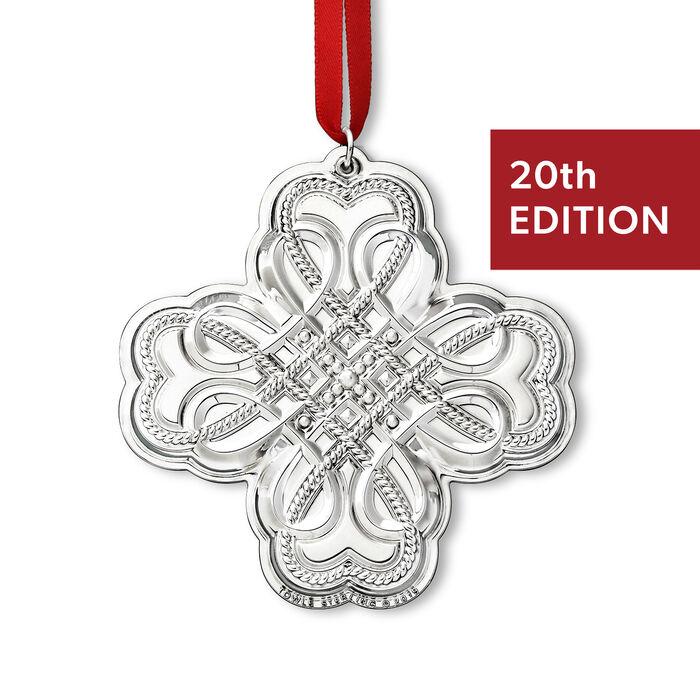 Towle 2019 Annual Sterling Silver Celtic Ornament - 20th Edition